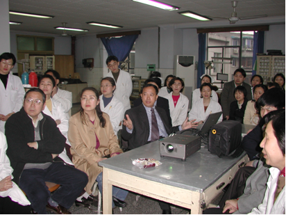 Orthodontist, Dr. Lin Hu, Lecture
